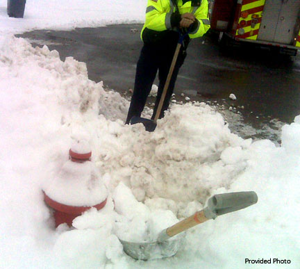 Winter-hydrant