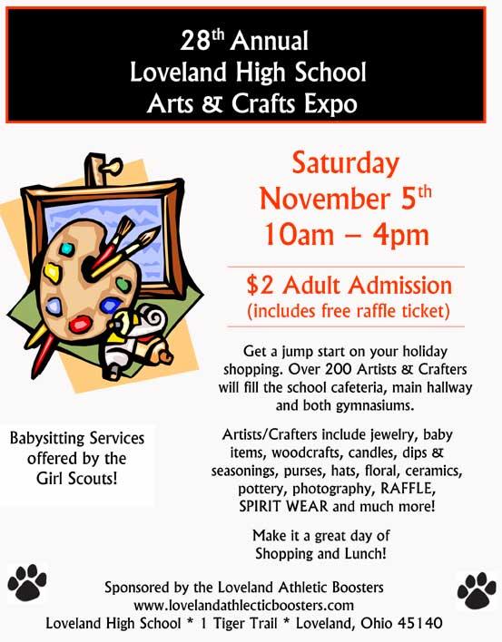 28th Annual Loveland High School Arts & Crafts Expo (Loveland Magazine)