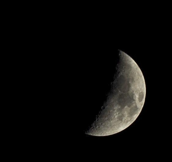 Moon may 2012