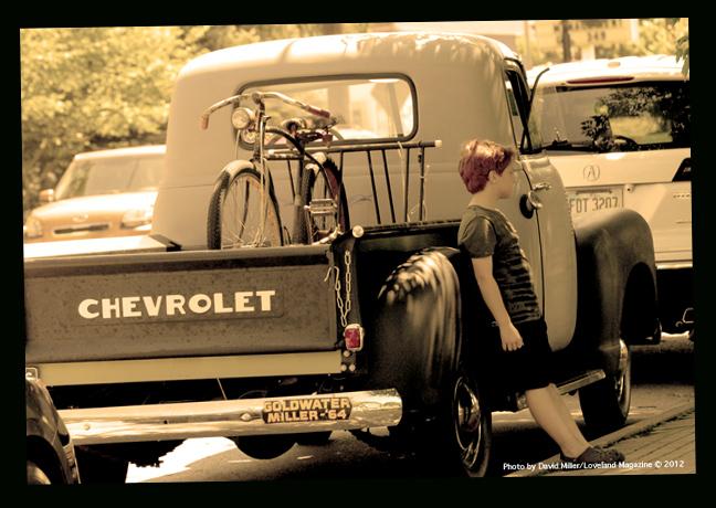 Boy-truck