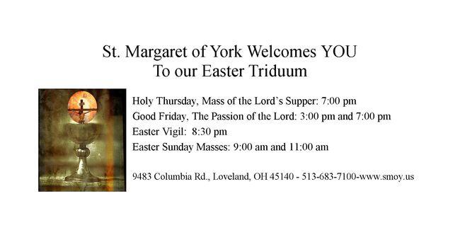 Media - Easter Triduum