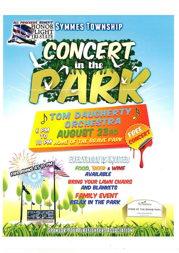 Concert At Home Of The Brave Park To Raise Money For Honor Flight